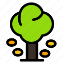 environment, forest, green, summer, tree icon