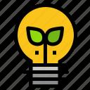 eco, idea, lamp, light
