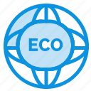 eco, environment, global, internet, world icon