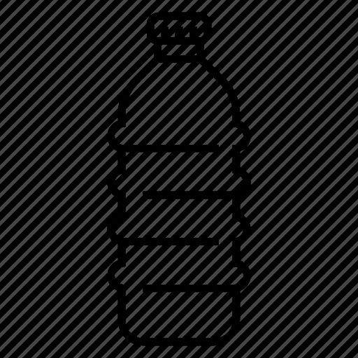 bottle, bottled water, plastic bottle, recyclable icon