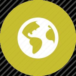 earth, globe, international, planet, world icon