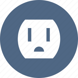 electrical, electricity, outlet, plug, power, socket icon