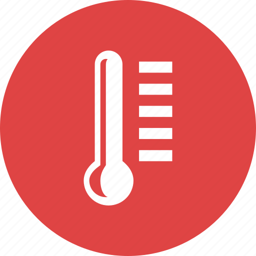 fever, gauge, temperature, thermometer, thermostat, weather icon