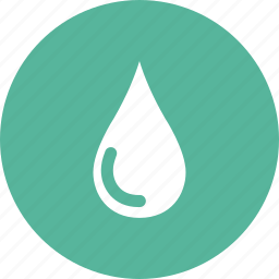 drop, liquid, rain, raindrop, transparent, water, waterproof icon