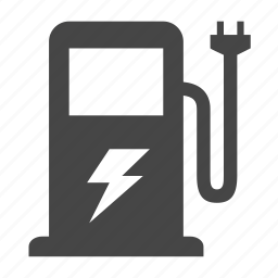 car charge, charging station icon