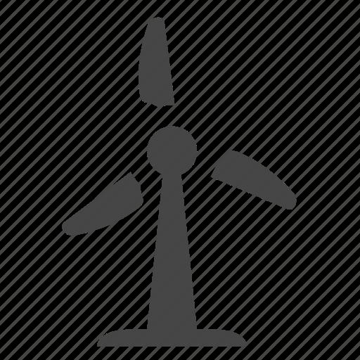wind mill, wind turbine icon
