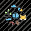 ecology, ecosystem, environment, nature icon