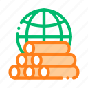 earth, planet, problem, tubes icon