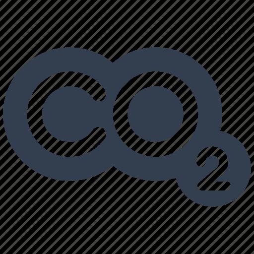 co, design, eco, ecology, environment, gas icon