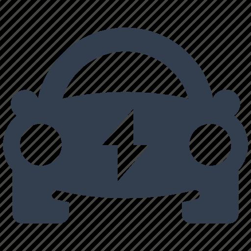 car, concept, eco, ecology, electric, energy, environment, hibrid, renewable, silhouettes, transportation icon