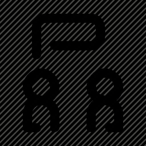 conversation, discussion, language icon
