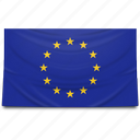 eu, europe, european union, flag icon