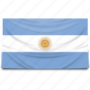 argentina, flag flags, south america icon