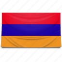 armenia, flag icon