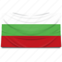 bulgaria, europe, flag icon