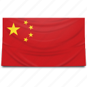 asia, china, flag icon