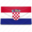 croatia, europe, flag icon