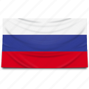 asia, europe, flag, moscow, russia icon