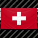 switzerland, europe, flag