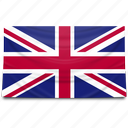 europe, flag, uk, united kingdom icon