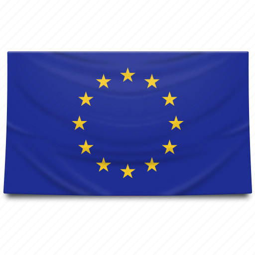 eu, europe, european union, flag icon