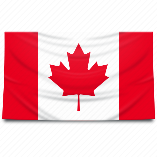 canada, flag, north america icon
