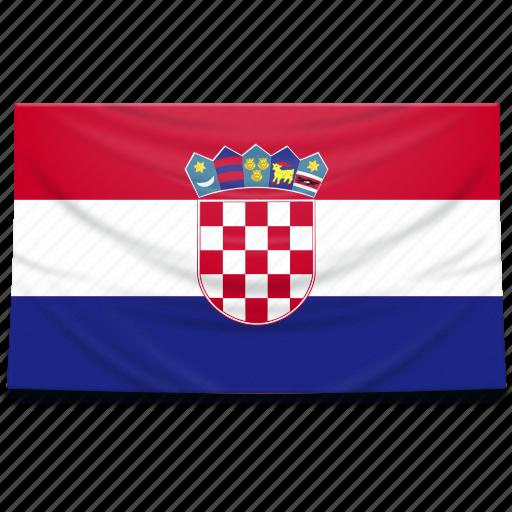 croatia, europe, flag icon