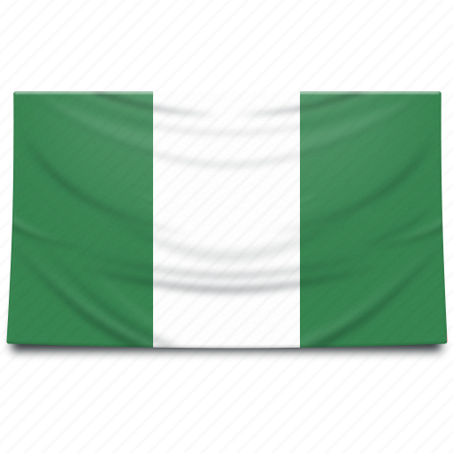 africa, flag, nigeria icon