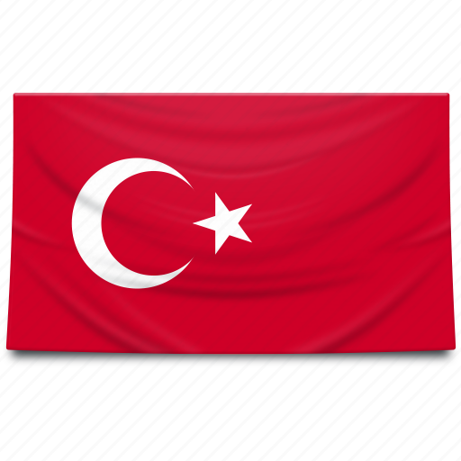 asia, europe, flag, turkey icon