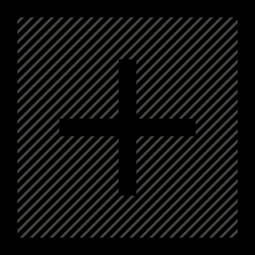 add, plus, square icon