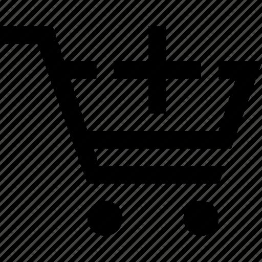 add, cart, e commerce, shopping icon