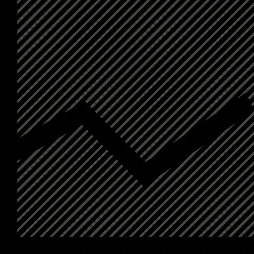 chart, diagram, evolution, report, statistics icon