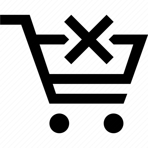 cart, delete, e commerce, shopping icon