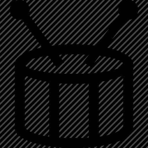 audio, drums, instrument, music, sound icon