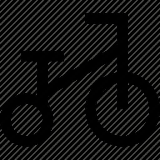 bike, kid, transport icon