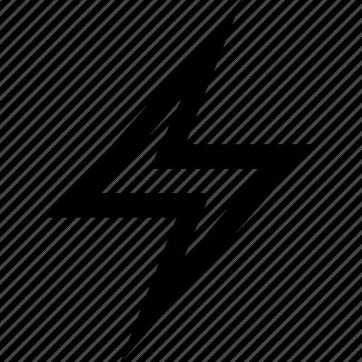 bolt, electric, lightning icon