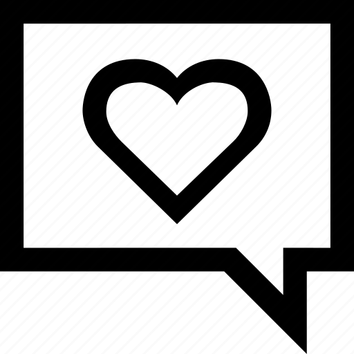heart, love, message, sms, text, valentine icon