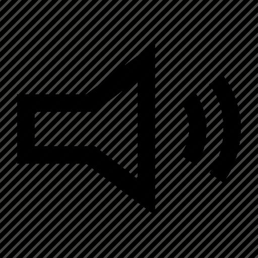 medium, volume icon