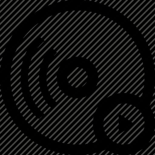audio, music, record, sound icon