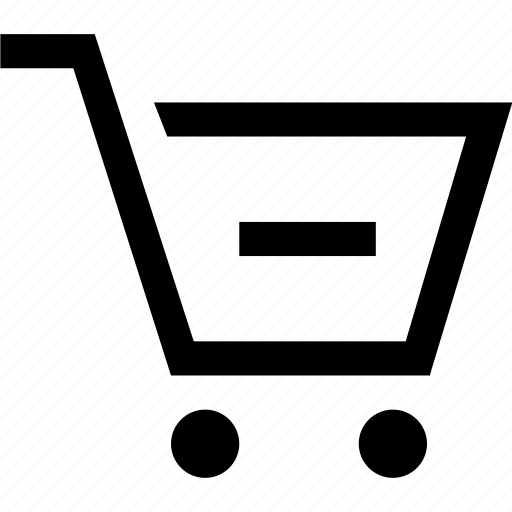 cart, e commerce, remove, shopping icon
