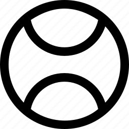 ball, sports, tennis icon