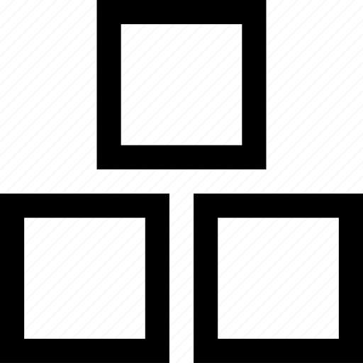 blocks, toy icon