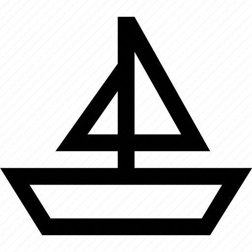 boat, transport, vehicle icon