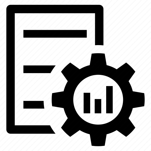 diagram, document, form, letter, statistics, stats, workorder icon