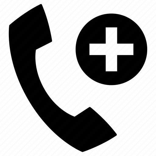 add, contact, new, phone, plus, telephone icon