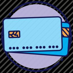 card, credit card, debit card, mastercard, visa icon