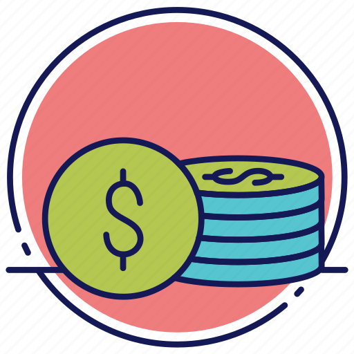 Cash, coins, currency, money icon - Download on Iconfinder