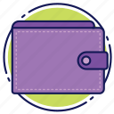 cards, cash, coins, money, payment, wallet icon