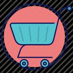 cart, shopping, shopping basket, shopping cart icon