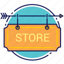 bar, cafe, club, market, shop, store icon